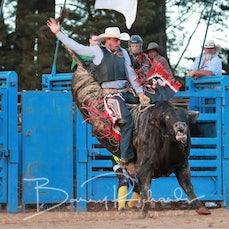 Neerim Rodeo 2019 - 2nd Div Bull Ride - Sect 2