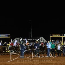 Cloncurry Rodeo 2019 - Evening Performance - Grand Entry