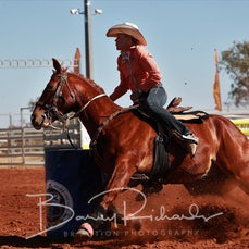 Cloncurry Rodeo 2019 - Sat Performance - Open Barrel Race - Sect 1