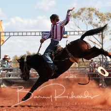 Cloncurry Rodeo 2019 - Sat Morning Performance - Station Buckjump - Sect 1