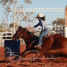 Merry Muster Junior Rodeo  2019 - Junior Barrel Race