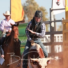 Merry Muster Junior Rodeo 2019 - Jnr Steer Ride - Sect 1