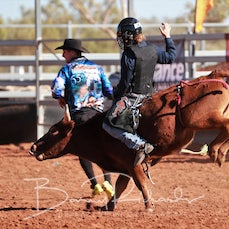 Merry Muster Junior Rodeo 2019 - Jnr Steer Ride - Sect 2