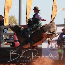 Cloncurry Rodeo 2019 - Sat Performance - 2nd Div Bull Ride - Sect 2