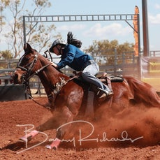 Cloncurry Rodeo 2019 - Sat Performance - Junior Barrel Race - Sect 1