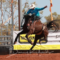 Cloncurry Rodeo 2019 - Sat Performance - 2nd Div Saddle Bronc - Sect 2