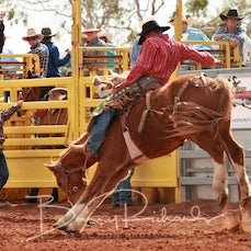 Cloncurry Rodeo 2019 - Sat Performance - 2nd Div Saddle Bronc - Sect 3