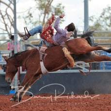 Cloncurry Rodeo 2019 - Sat Performance - 2nd Div Bareback - Sect 1