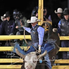 Cloncurry Rodeo 2019 - Sat Evening Performance - Open Bull Ride - Sect 2