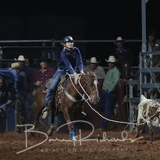 Cloncurry Rodeo 2019 - Sat Evening Performance - Breakaway Roping - Sect 3