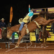 Cloncurry Rodeo 2019 - Sat Evening Performance - Open Bareback - Sect 2