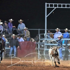Cloncurry Rodeo 2019 - Sat Evening Performance - Team Roping - Sect 5