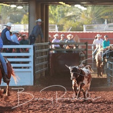 Mt Isa Rodeo 2019 - Thursday - Team Roping - Sect 1