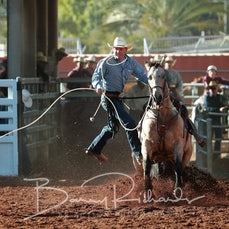 Mt Isa Rodeo 2019 - Thursday - Rope & Tie - Sect 1
