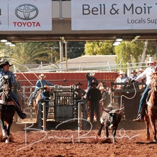 Mt Isa Rodeo 2019 - Thursday - Team Roping - Sect 2