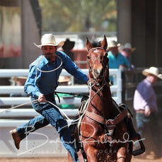 Mt Isa Rodeo 2019 - Fri Afternoon - Rope & Tie - Sect 3