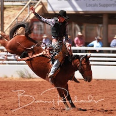 Mt Isa Rodeo 2019 - Fri Morning - 2nd Div Saddle Bronc - Sect 1