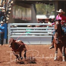 Mt Isa Rodeo 2019 - Fri Morning - Breakaway Roping - Sect 3