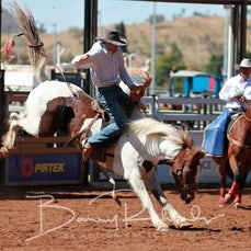 Mt Isa Rodeo 2019 - Fri Morning - Local Station Buckjump - Sect 1