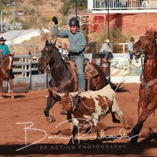 Mt Isa Rodeo 2019 - Fri Afternoon - Team Roping - Rd 2 - Sect 1