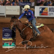 Mt Isa Rodeo 2019 - Fri Evening - Jnr Barrel Race Final