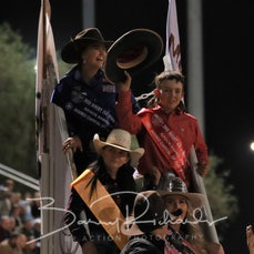 Mt Isa Rodeo 2019 - Fri Evening - Jnr Barrel Race Presentation