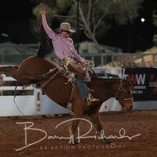 Mt Isa Rodeo 2019 - Fri Evening - Open Saddle Bronc - Sect 1