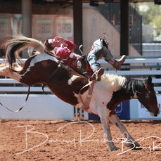 Mt Isa Rodeo 2019 - Sat Morning -2nd Div Bareback - Rd 1