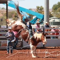 Mt Isa Rodeo 2019 - Sat Afternoon - Open Bareback - Sect 2