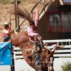 Mt Isa Rodeo 2019 - Sat Afternoon - Open Saddle Bronc - Sect 2
