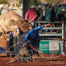 Mt Isa Rodeo 2019 - Sat Afternoon - Open Bull Ride - Rd 2 - Sect 1