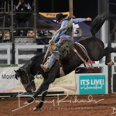 Mt Isa Rodeo 2019 - Sat Evening - Open Saddle Bronc - Sect 3