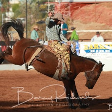 Mt Isa Rodeo 2019 - Sat Afternoon - 2nd Div Saddle Bronc - Sect 4
