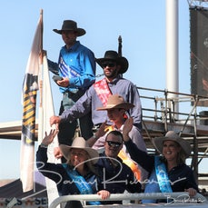 Mt Isa Rodeo 2019 - Sat Afternoon - Local Station Buckjump Final & Presentation