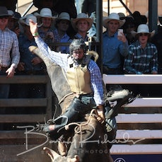 Mt Isa Rodeo 2019 - Sat Afternoon - Open Bull Ride - Sect 3