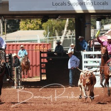 Mt Isa Rodeo 2019 - Sat Afternoon - Team Roping - Rd 2 - Sect 2