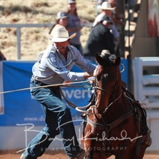 Mt Isa Rodeo 2019 - Thursday - Rope & Tie - Sect 2