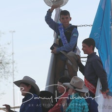 Mt Isa Rodeo 2019 - Sat Afternoon - Poddy Calf Ride - Final Section & Presentation