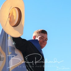 Mt Isa Rodeo 2019 - Sunday Morning - Rope & Tie Victory Lap