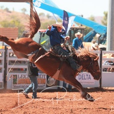 Mt Isa Rodeo 2019 - Sun Morning - Open Saddle Bronc Final