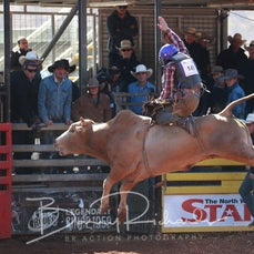 Mt Isa Rodeo 2019 - Sunday Morning  - 2nd Div Bull Ride Final