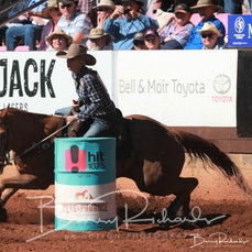 Mt Isa Rodeo 2019 - Sunday Morning - Barrel Race - Rd 2 - Sect 4