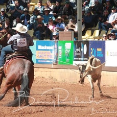 Mt Isa Rodeo 2019 - Sunday Morning - Team Roping - Rd 2 - Sect 4