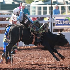 Mt Isa Rodeo 2019 - Sat Morning - Jnr Steer Ride - Sect 4