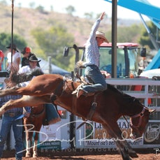 Mt Isa Rodeo 2019 - Sat Morning - Local Station Buckjump - Sect 2