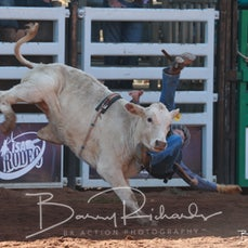 Mt Isa Rodeo 2019 - Sat Morning - Poddy Calf Ride - Sect 1