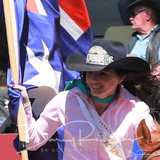 Mt Isa Rodeo 2019 - Sun Afternoon - Grand Entry, Car Raffle, Intro of Guests