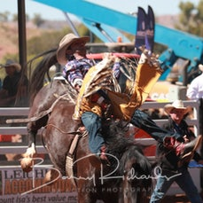 Mt Isa Rodeo 2019 - Sunday Afternoon - Open Bareback - Rd 2 - Sect 2