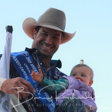 Mt Isa Rodeo 2019 - Sunday Afternon - Open Bareback Victory Lap