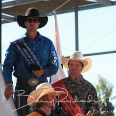 Mt Isa Rodeo 2019 - Sunday Afternoon - Open Bull Ride Victory Lap